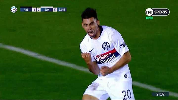 Ramírez marcó el primero de San Lorenzo