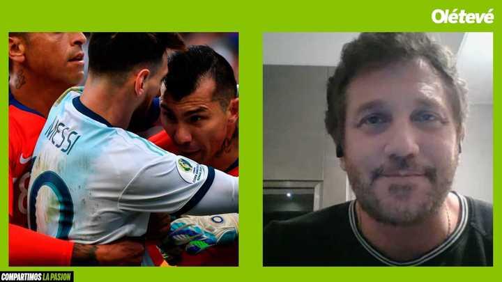 Domínguez: el perdón de Messi, la roja y verlo campeón