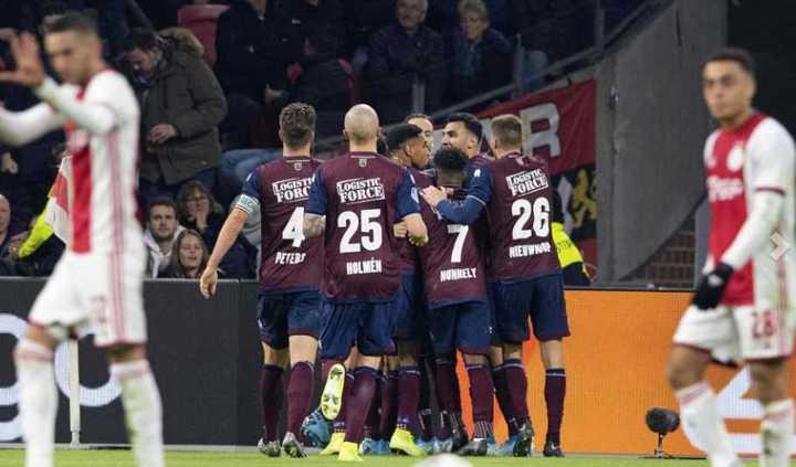 La derrota del Ajax