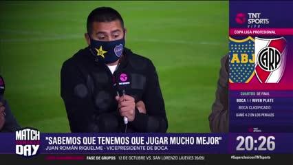 """Riquelme: """"Gallardo tiene suerte, empataron sin patear al arco"""""""