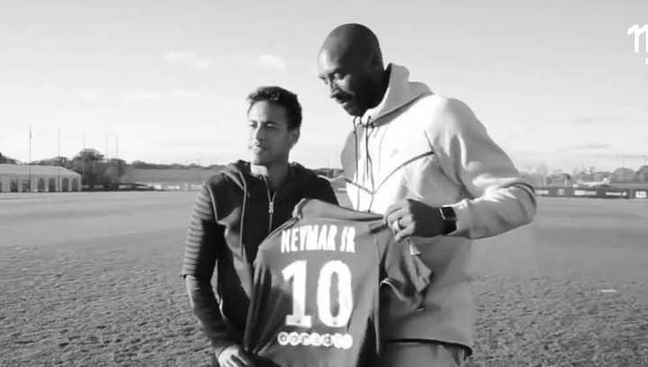 El homenaje de Neymar a Bryant