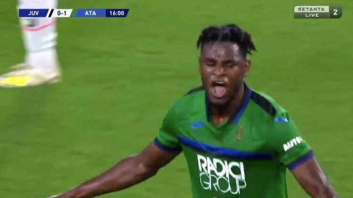 Gran jugada del Papu Gómez para el primero del Atalanta