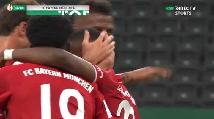 Bayern Munich derrotó a Leverkusen 4 a 2 y se quedó con la Copa de Alemania