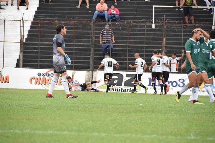 Gaspar Triverio y el 1-0 de Chaco For Ever sobre Estudiantes SL