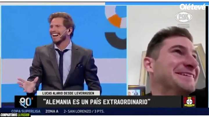 """Vignolo y su """"boludez"""" con Alario"""