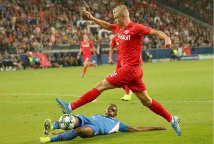El hat-trick de Haland en la Champions