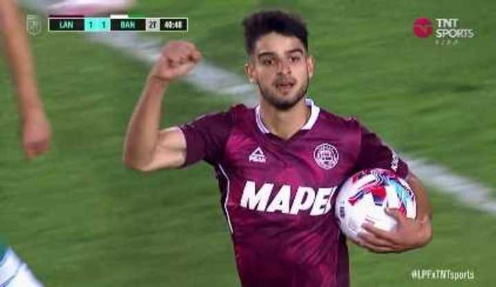López empató el partido