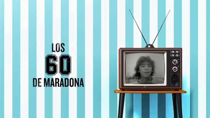 Los 60 de Maradona