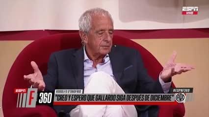 Rodolfo D'Onofrio y cuál fue el mejor negocio de su gestión.