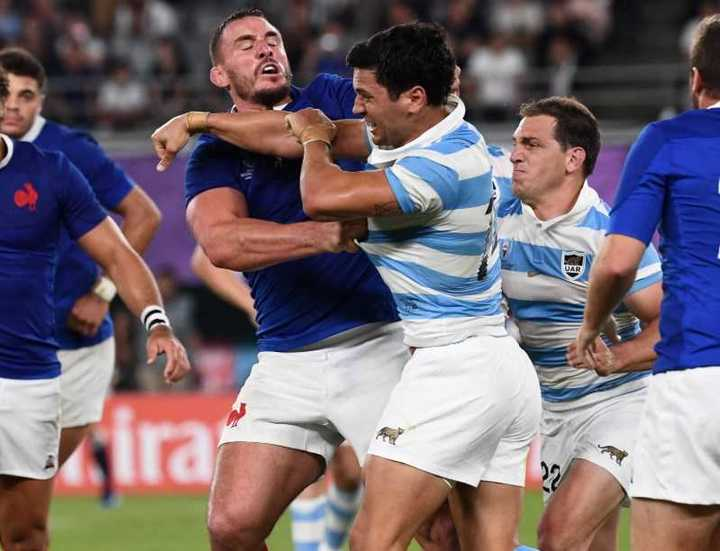 Lo mejor de Los Pumas - Francia