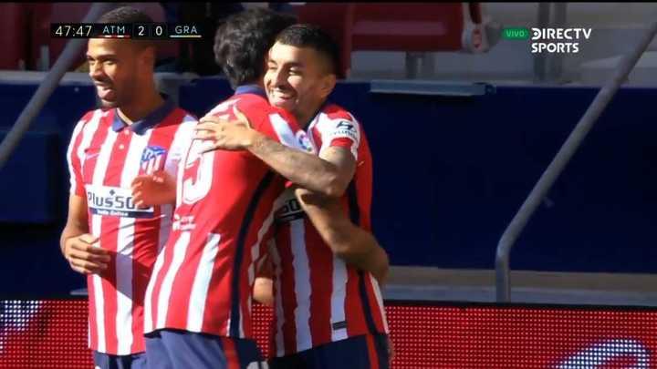 Ángel Correa marcó el segundo del Atlético de Madrid