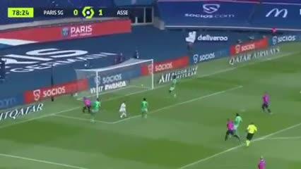 Todos los goles: PSG 3-Saint Etienne 2