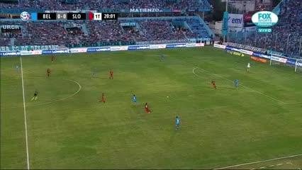 Llegó San Lorenzo, Rigamonti salvó a Belgrano