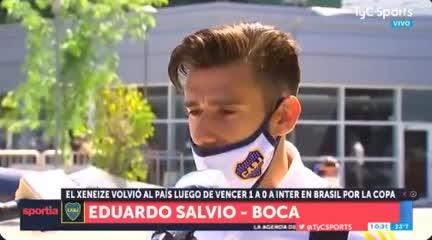 Salvio, el festejo de Tevez y su momento en Boca