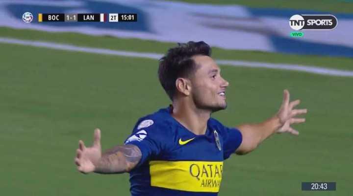 El empate duró poco, apareció Mauro para poner el segundo de Boca