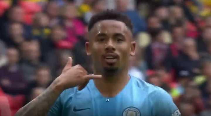 Jesús puso el 4 a 0 del City sobre el Watford