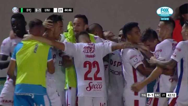 Lotti marcó el gol para que Unión le gane a Defensa