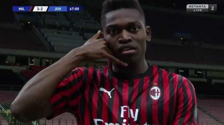 Milan le ganó el clásico 4 a 2 a Juve