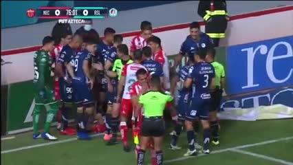 Impresionante lesión en México