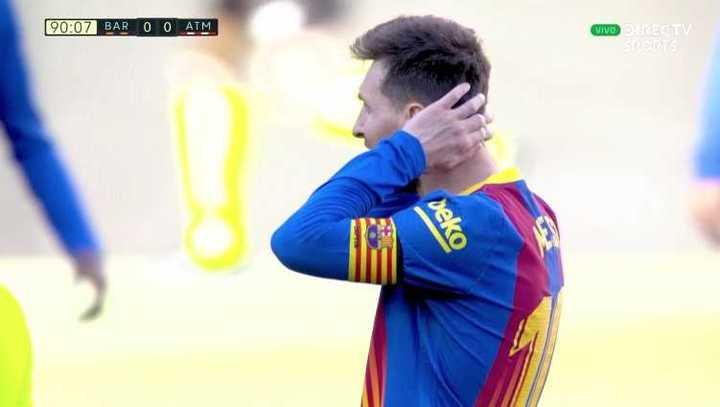 Barcelona y Atlético Madrid empataron 0 a 0