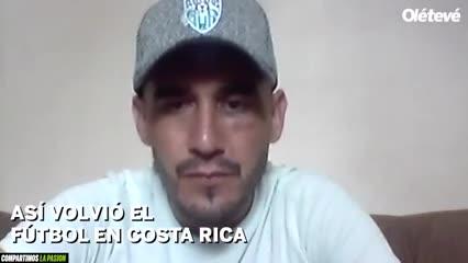 La vuelta en Costa Rica por un argentino
