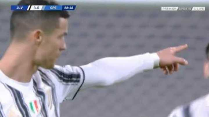 La Juventus ganó con Cristiano
