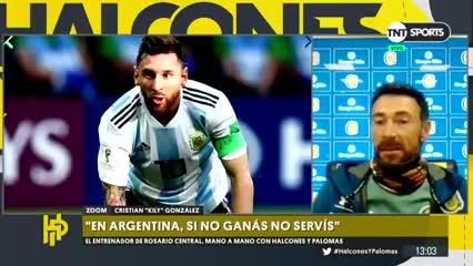 El Kily expresó su bronca por los cuestionamientos a Messi en la Selección