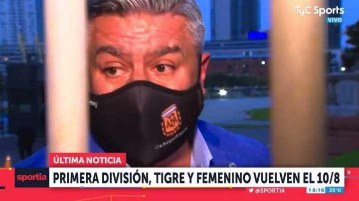 Chiqui Tapia: