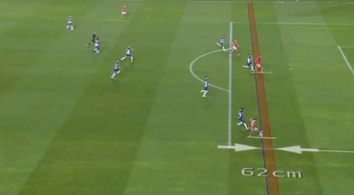 El gol anulado a Benfica