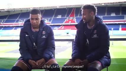 Los máximos deseos de Mbappé y Neymar