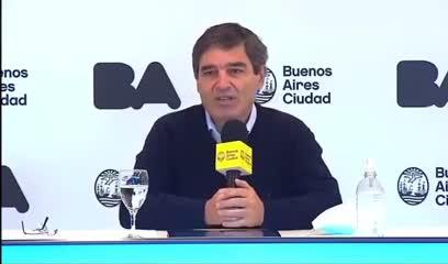 Fernán Quirós se refirió a la imposibilidad de la Ciudad para organizar espectáculos masivos