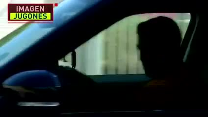 Suárez se fue muy emocionado del entrenamiento del Barcelona