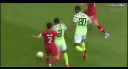 Resumen de Nigeria 4 - Qatar 0