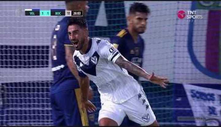 Lucero empató el partido