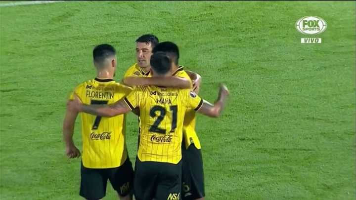 Guaraní metió su cuarto gol de la mano de Benítez