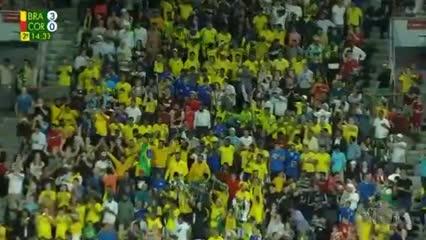 Danilo y el 3-0 de Brasil a Corea del Sur