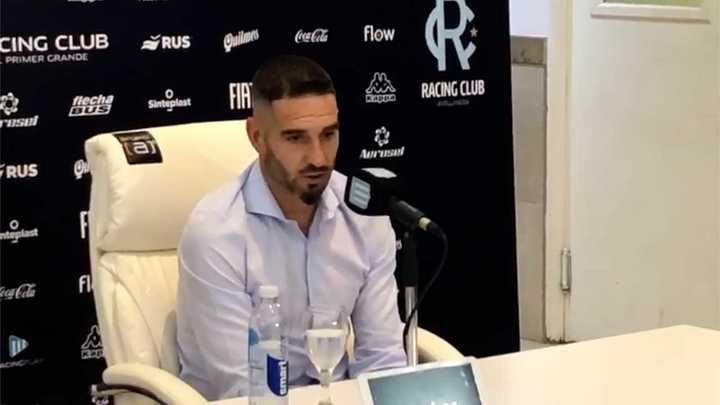 Lisandro López se despidió del hincha de Racing