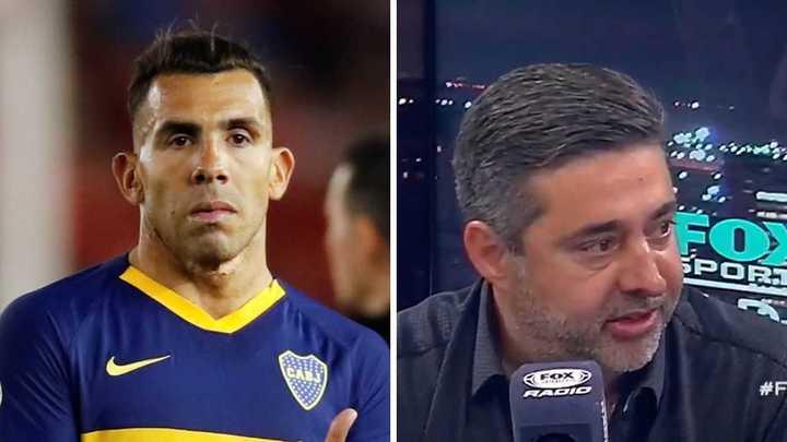 """""""Yo a Tevez lo pondría siempre pero no soy el director técnico"""""""