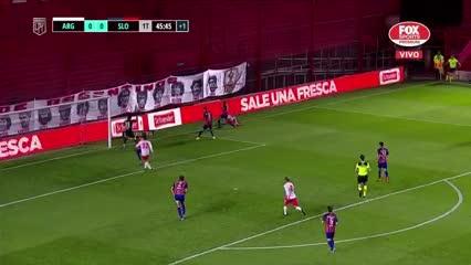 Monetti salvó a San Lorenzo