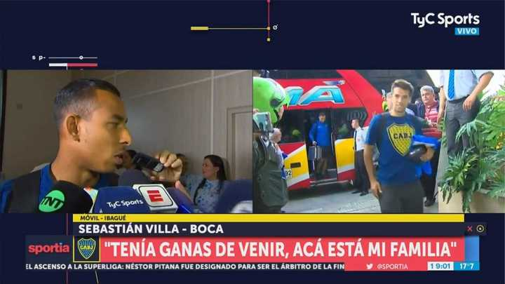 Boca llegó a Ibagué