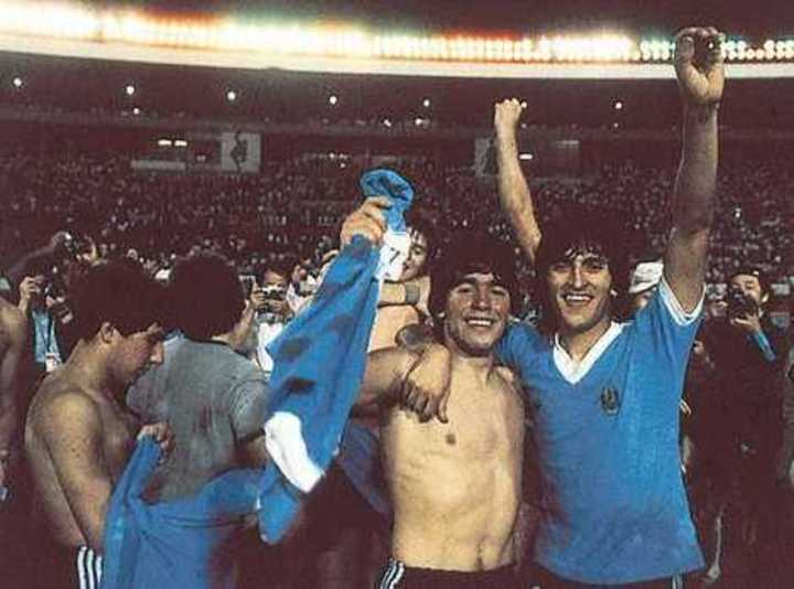 Ramón Díaz sobre Maradona en Gimnasia