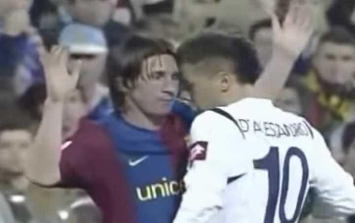 D'Alessandro recuerda su cruce con Messi