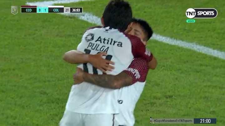 Farias liquidó el partido para Colón