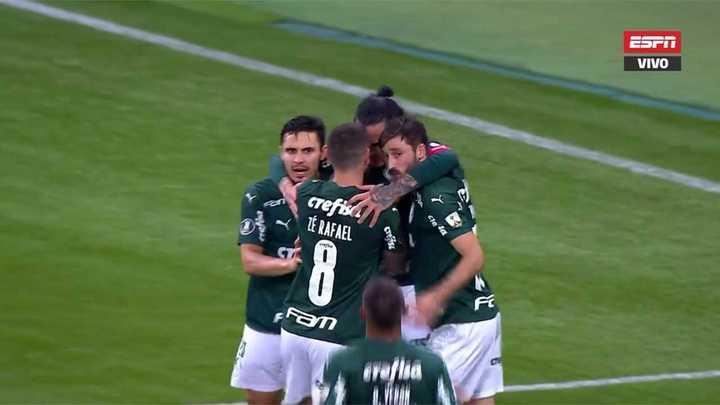 Llegó el segundo de Palmeiras