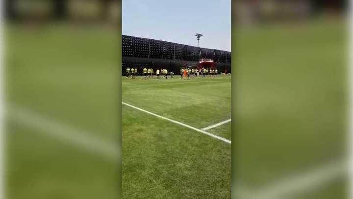 El entrenamiento de Flamengo en Lima y los métodos antiespías en el entrenamiento