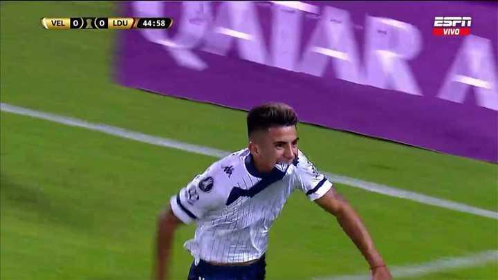 Almada convirtió para Vélez