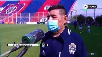 Maradona elogió a Tinelli