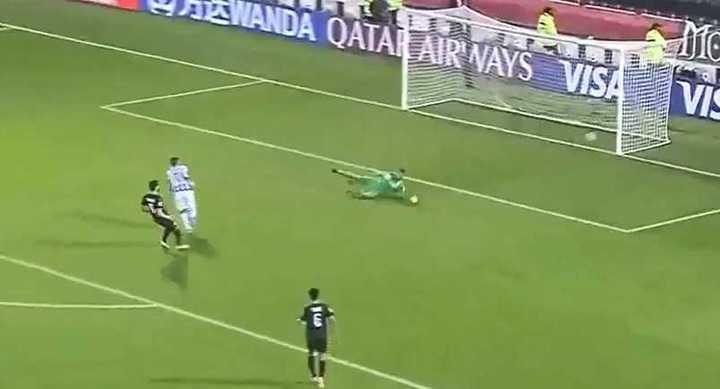 El gol de Rogelio Funes Mori para Monterrey