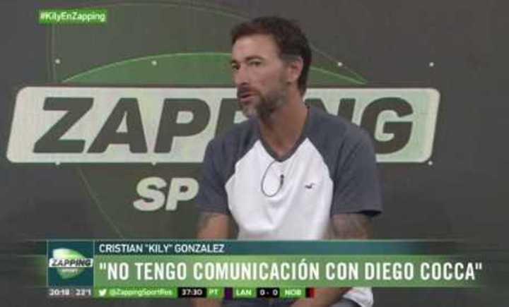 El Kily González y el serrucho
