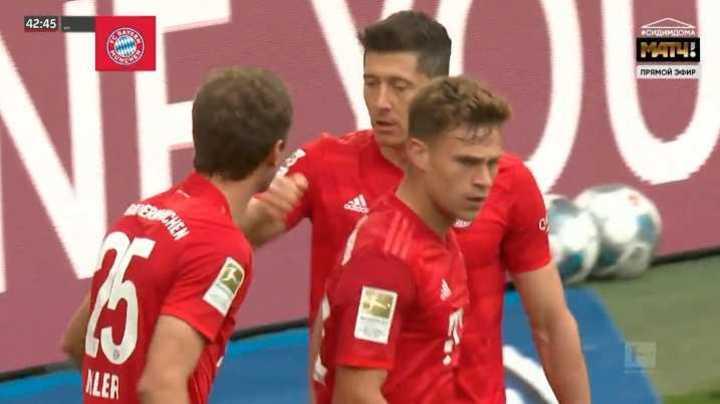 Mirá los goles de la victoria 5 a 0 del Bayern Munich